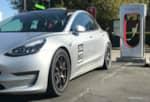 Tesla Model 3 Supercharging Tesla Corsa photo credit: Andrew Modena