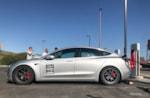 Tesla Model 3 Supercharging Tesla Corsa on Nitto NT05 photo credit: Andrew Modena