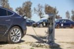 Tesla charging NEMA 14-50 race track photo credit: Andrew Modena