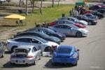 Tesla Model 3 Porsche race track photo credit: Andrew Modena