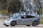 Tesla Model 3 racing helmet P3D photo credit: Andrew Modena