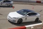 Tesla Model S racing photo credit: Andrew Modena