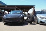 Tesla Model 3 racing tire pressure photo credit: Andrew Modena