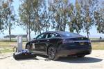 Tesla Model S charging RV NEMA 14-50 photo credit: Andrew Modena