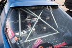 Jimmy Up Matsuri drift bash Mack Cruz's 2JZ-Powered FC3S Mazda RX-7 Rear Window