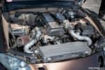 Jimmy Up Matsuri drift bash Lexus SC300 engine bay Toyota 2JZ-GTE engine