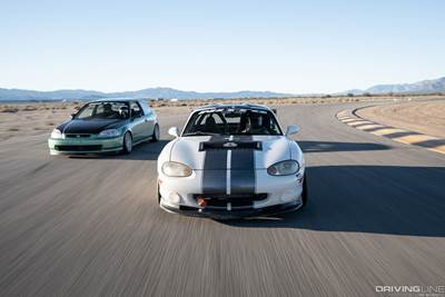 Civic vs  Miata: Meet the Cars of Driver Battles | DrivingLine