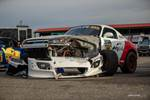 Jackie Ding's Honda S2000 was a victim of the fast-paced course at Gridlife Mid-Ohio photo credit: Tara Hurlin