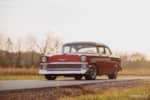 """front shot 1956 Chevrolet Bel-Air"""