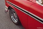 1956 Chevrolet Bel Air front wheel