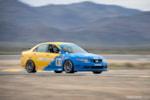 Honda Spoon Accord Euro R front moving pan blur at Chuckwalla Valley Raceway photo credit: Luke Munnell