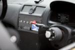 Honda Spoon Accord Euro R interior carbon fiber switch panel photo credit: Luke Munnell