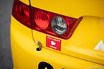 Honda Spoon Accord Euro R Japanese safety inspection sticker below brake light photo credit: Luke Munnell