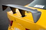 Honda Spoon Accord Euro R Mooncraft carbon fiber rear wing photo credit: Luke Munnell
