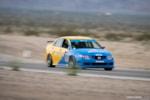 Honda Spoon Accord Euro R at Chuckwalla Valley Raceway front 3/4 pan blur on track photo credit: Luke Munnell