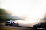 Chelsea Denofa's Ford Mustang RTR put out an epic amount of Nitto Tire smoke at Formula Drift Orlando en route to a podium finish photo credit: Valters Boze