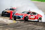 Ryan Tuerck hugs a clipping point during Formula Drift Orlando photo credit: Valters Boze