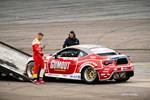 Ryan Tuerck was towed off course after breaking some parts in practice photo credit: Valters Boze