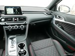 2019 Genesis G70 dashboard passenger side.