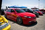 Eibach Honda meet and drags at Fontana red Acura TSX