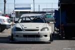 Eibach Honda Meet and Drags at Fontana Ryan Hoegner Pandem EK Civic front