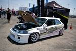 Eibach Honda Meet and Drags at Fontana Hybrid Racing Kristian Wong K-series EK Civic