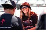 Eibach Honda Meet and Drags at Fontana Damn Gina smiling