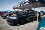 Eibach Honda Meet and Drags at Fontana Ruthless Squad DC2 Acura Integras JDM front end