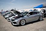 Eibach Honda Meet and Drags at Fontana SoCal9s ninth-generation Civic line up