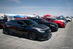 Eibach Honda Meet and Drags at Fontana FK8 Honda Civic Type R and Si lineup