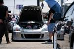 Eibach Honda Meet and Drags at Fontana supercharged silver Honda S2000