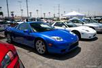 Eibach Honda Meet and Drags at Fontana Blue and white Acura NSXs