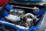 Eibach Honda Meet and Drags at Fontana lowrider style Acura TSX supercharged engine bay