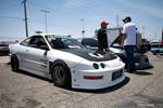Eibach Honda Meet and Drags at Fontana drag DC2 Acura Integra three piece front end
