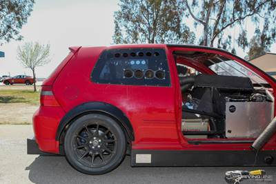 "Mid-Engine LS-Swapped Rear-Wheel Drive VW Golf ""R59"
