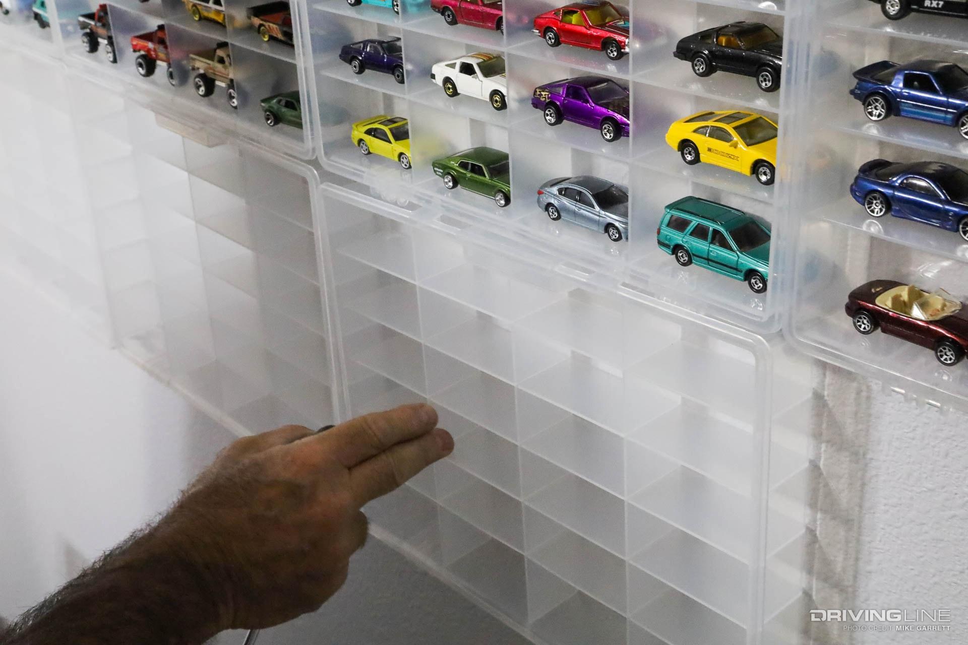 Plano Storage Case Diecast Car Display