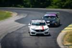 Hyperfest at VIR Honda Challenge Civic Si racers racing photo credit: Luke Munnell