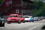 Hyperfest at VIR NASA run group returning to paddock on pit lane photo credit: Luke Munnell