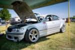 Hyperfest at VIR E46 BMW drift car in the pits photo credit: Luke Munnell
