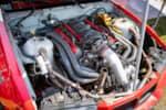 Hyperfest at VIR twin turbo V8 E36 BMW drift car engine bay photo credit: Luke Munnell