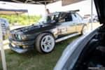 Hyperfest at VIR E30 BMW drift car in pits photo credit: Luke Munnell