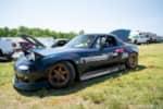 Hyperfest at VIR fender flared Mazda Miata drift car photo credit: Luke Munnell