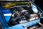 Hyperfest at VIR turbocharged Mazda Miata drift car engine bay photo credit: Luke Munnell