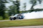 Hyperfest at VIR AJ Muss E46 BMW M3 drift car on track photo credit: Luke Munnell