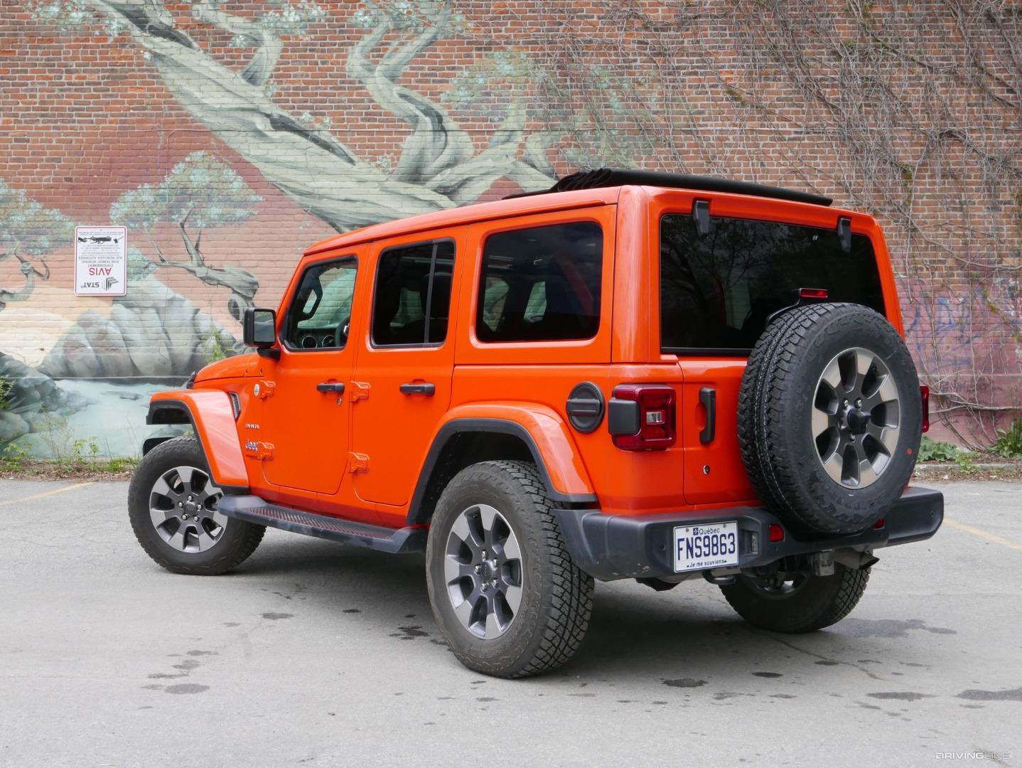 2019 Jeep Wrangler JL Sahara Sky One-Touch Review ...