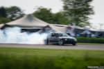 Gridlife Midwest Festival black E46 BMW M3 drift car