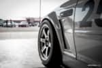 BuildJournal Alpine White BMW E46 M3 Silver TE37 Nitto NT01 PS Design Fender Fitment photo credit: Jeremy Adajar