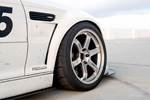 BMW E46 M3 PSDesigns Fenders Silver TE37 Nitto NT01 photo credit: Andrew Lim