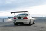 BuildJournal Alpine White BMW E46 M3 Rear 3/4 RS Future LM Wing photo credit: Andrew Lim