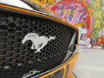 2019 Ford Mustang GT Performance Pack 1 pony badge grille.